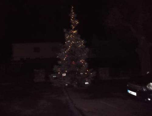 Weihnachtsgeschenk für die Bürger aus Hausen